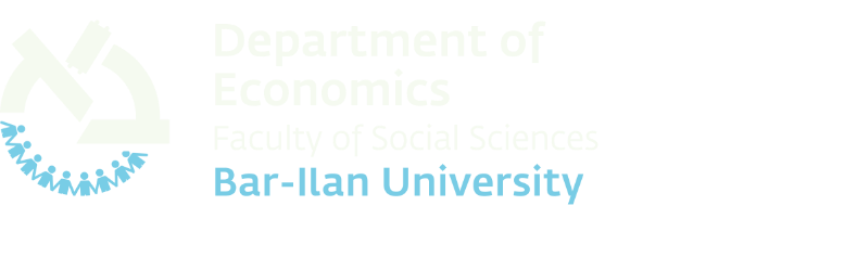Department of Economics Bar-Ilan University